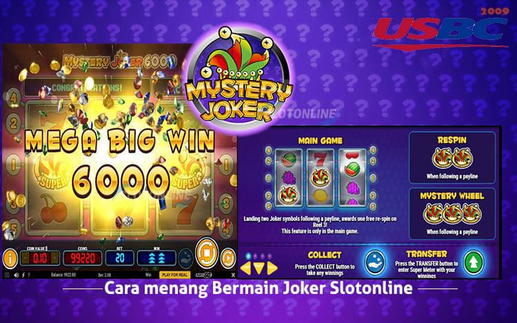 Cara Menang Bermain Joker Slot Online