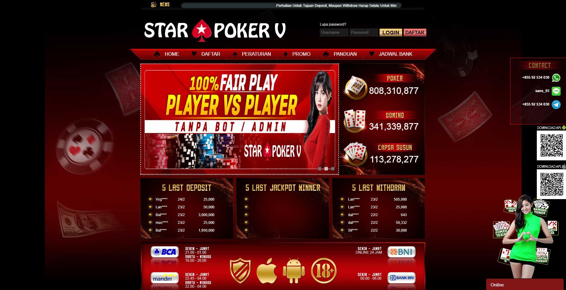 Domino Agen Poker Online PKV